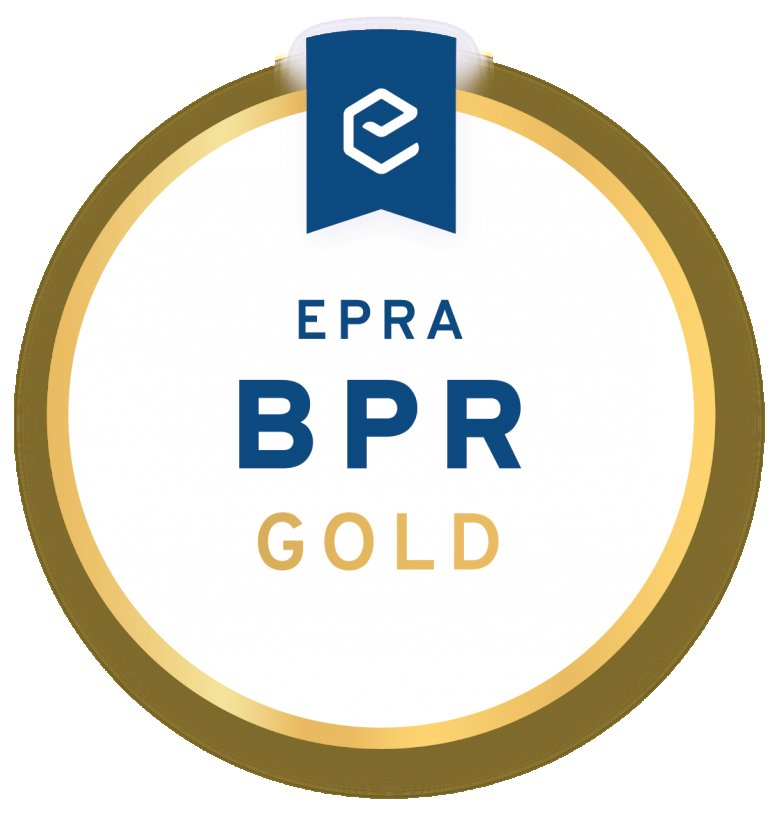 Derwent London wins EPRA Gold award 2018