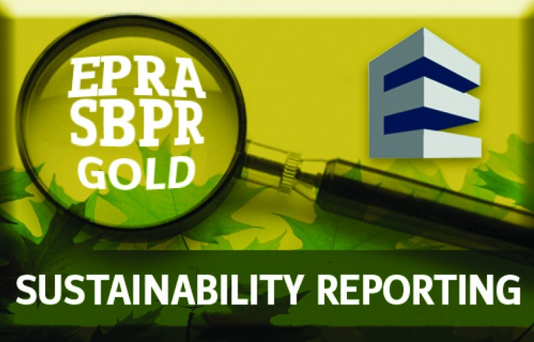 Derwent London wins EPRA Gold award for its 2012 Sustainability Report
