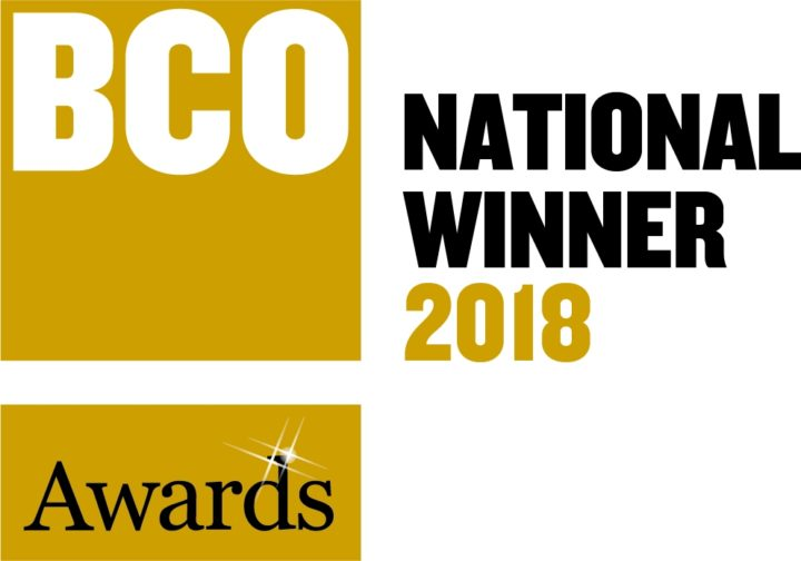 White Collar Factory wins BCO National Award 2018 for Innovation