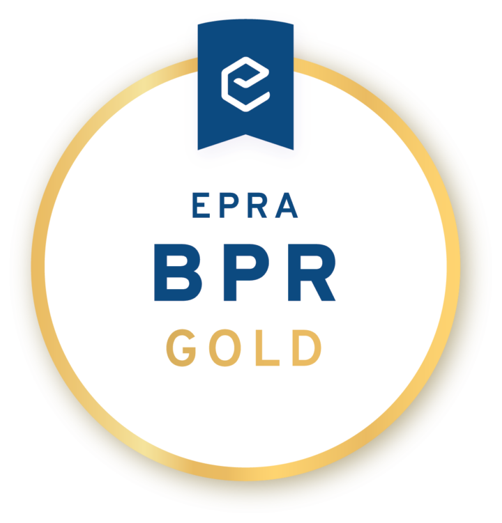 Derwent London wins EPRA Gold award 2018