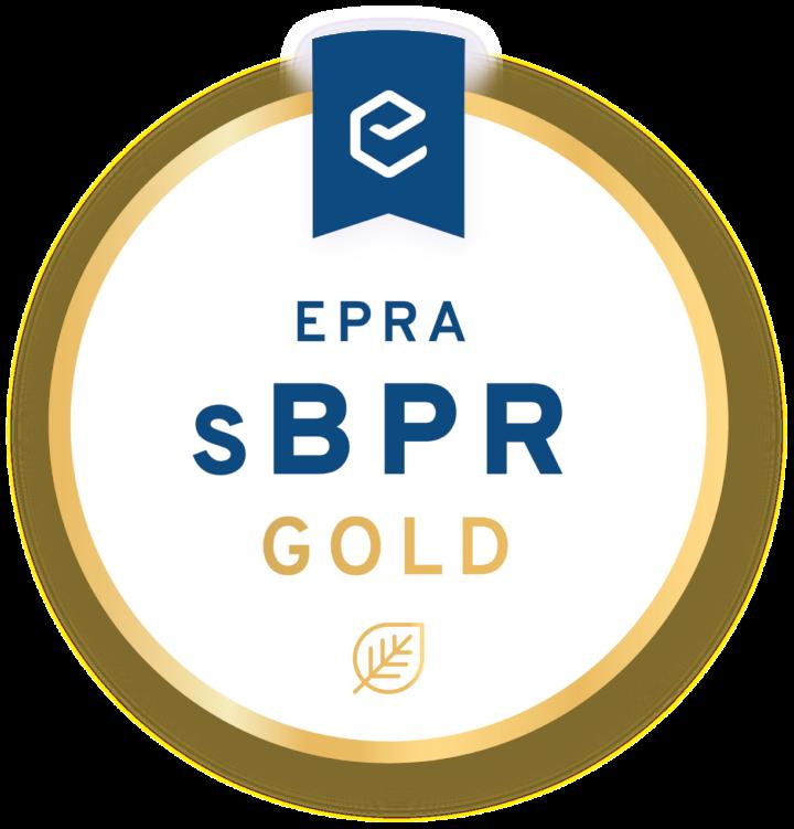 Derwent London wins EPRA Gold award 2018 for sustainability