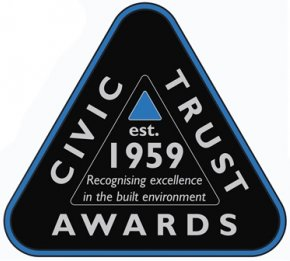 1 Page Street receives a commendation award from the Civic Trust