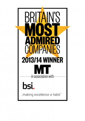 Derwent London again in top 10 in Britain's Most Admired Companies awards 2013