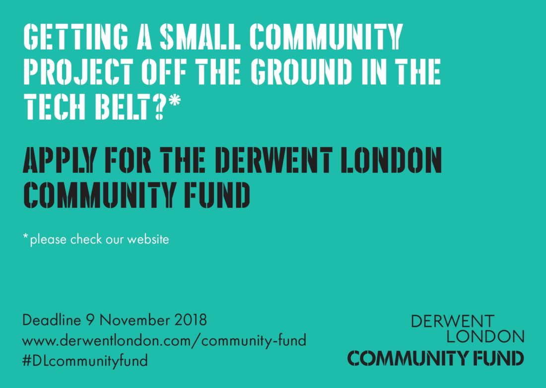 Launch of autumn 2018 Community Fund in Tech Belt image
