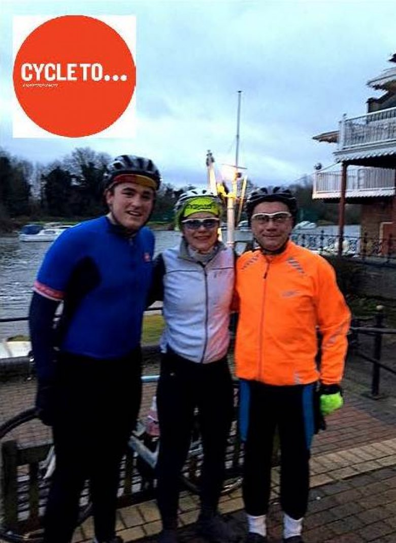 Training Ride 2 - The Icy Surrey Cycle