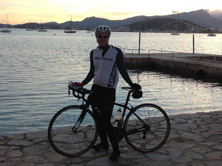 Charmaine Training in Mallorca