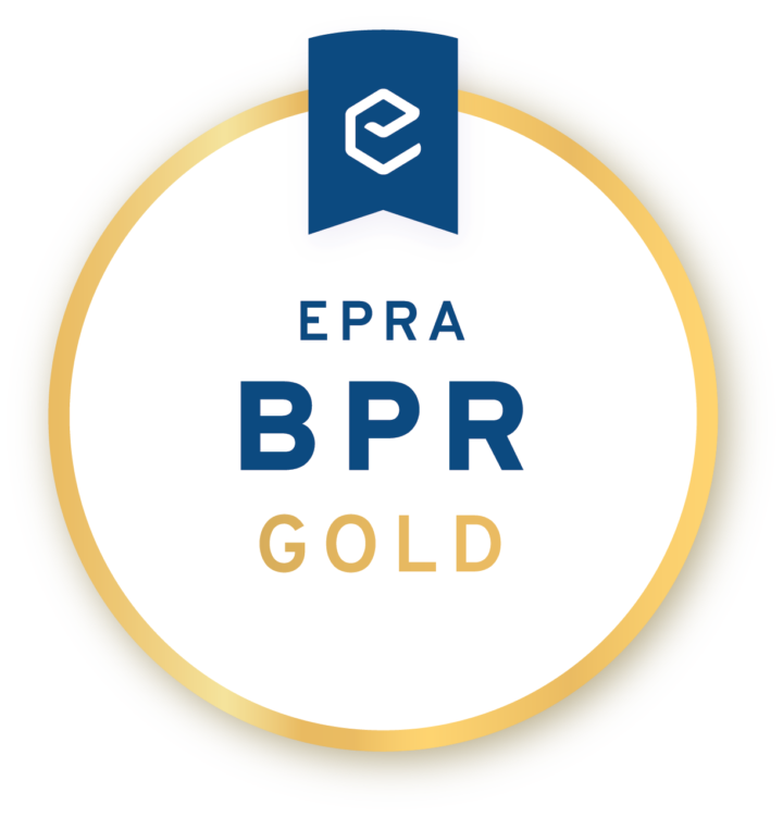 Derwent London wins EPRA Gold for its 2016 Annual Report