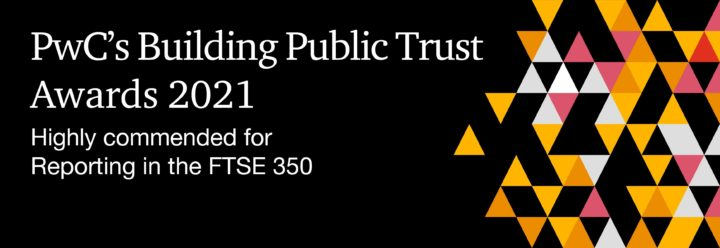 PwC Building Public Trust Awards - Highly Commended