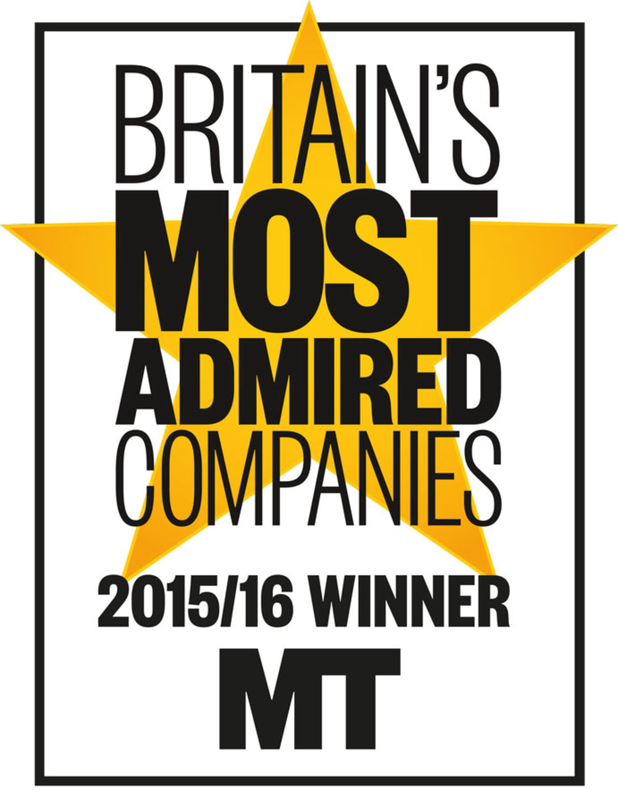 Derwent London again in top 10 in Britain's Most Admired Companies awards 2015