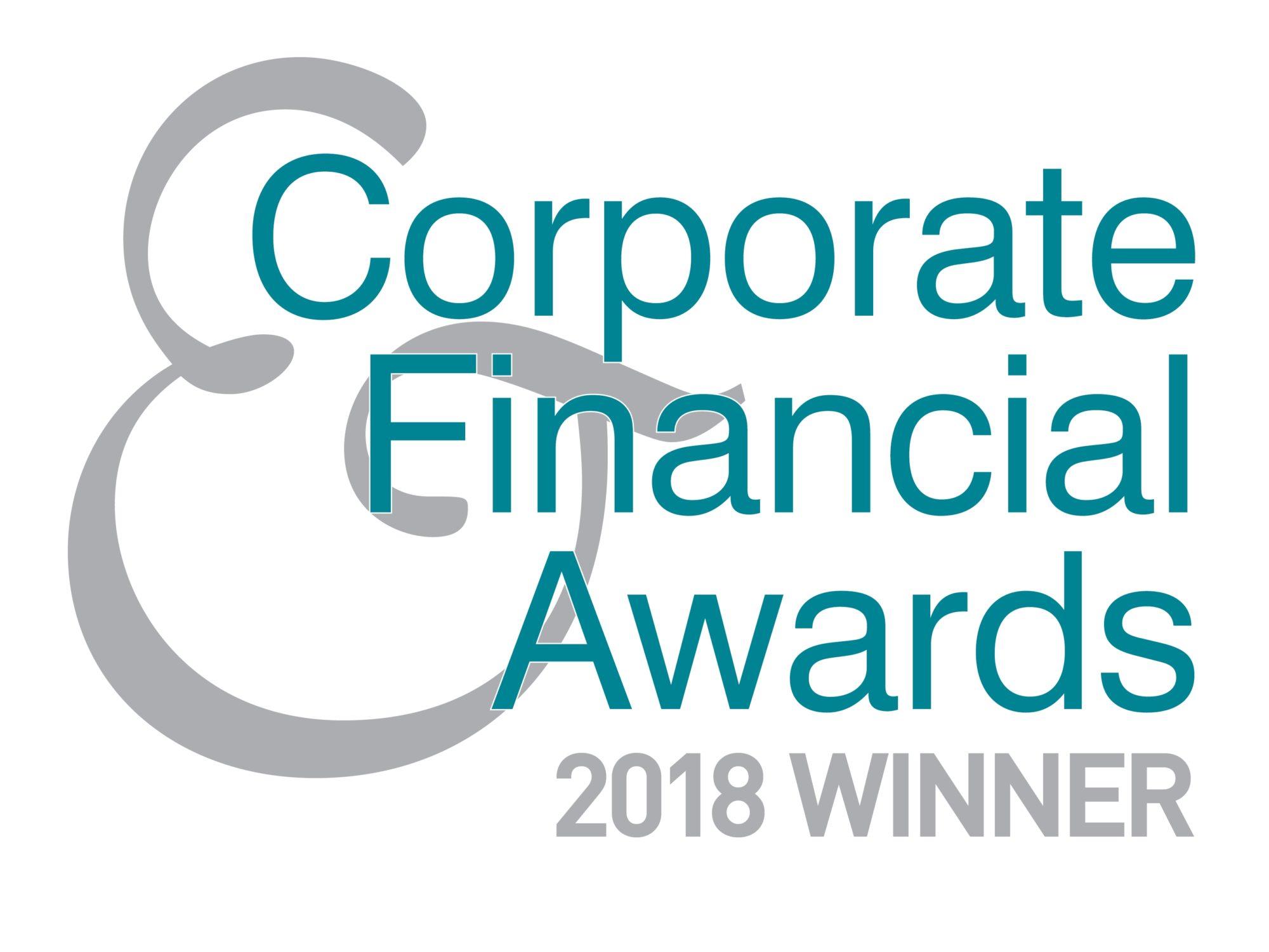 Corporate & Financial Awards 2018
