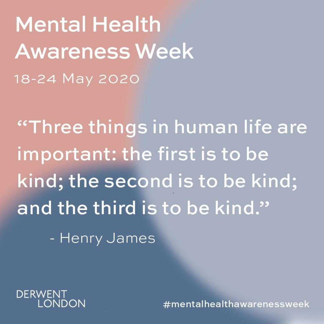 Mental Health Awareness week image