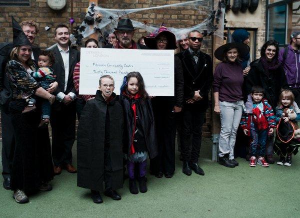 Derwent London supports Halloween Party