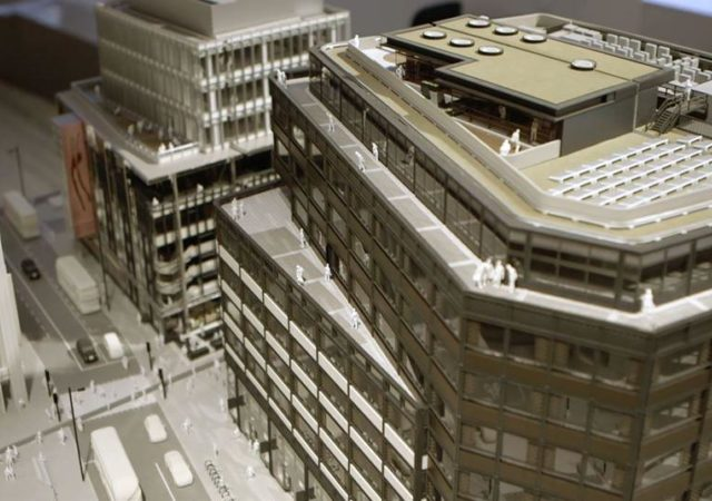 The making of the Soho Place model