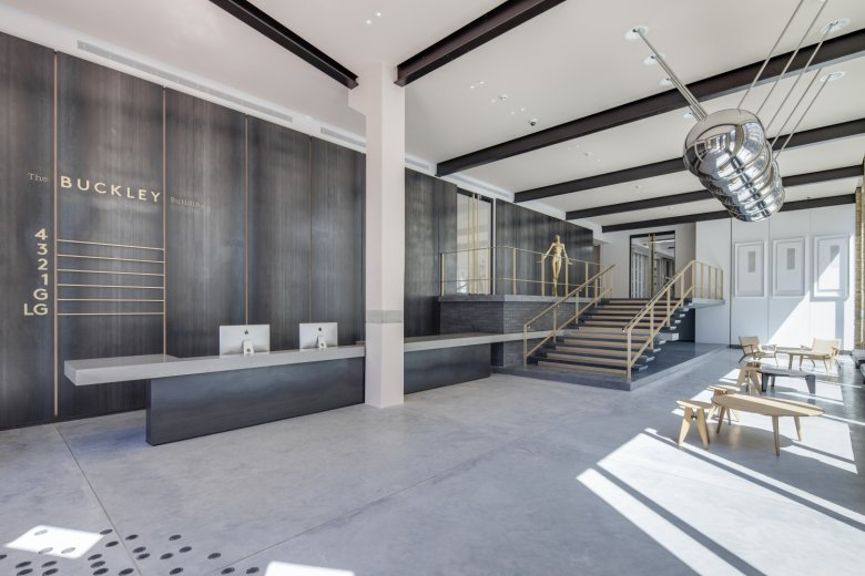 Buckley Building wins the Commercial Interior Award at the 2015