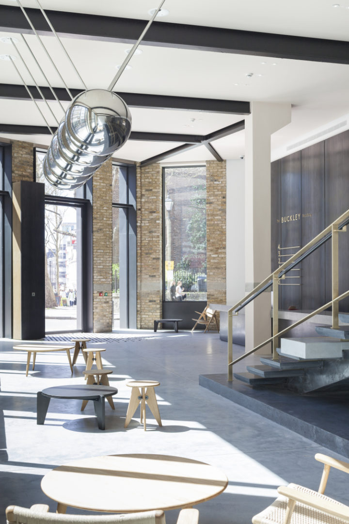 The Buckley Building wins AJ Retrofit Award