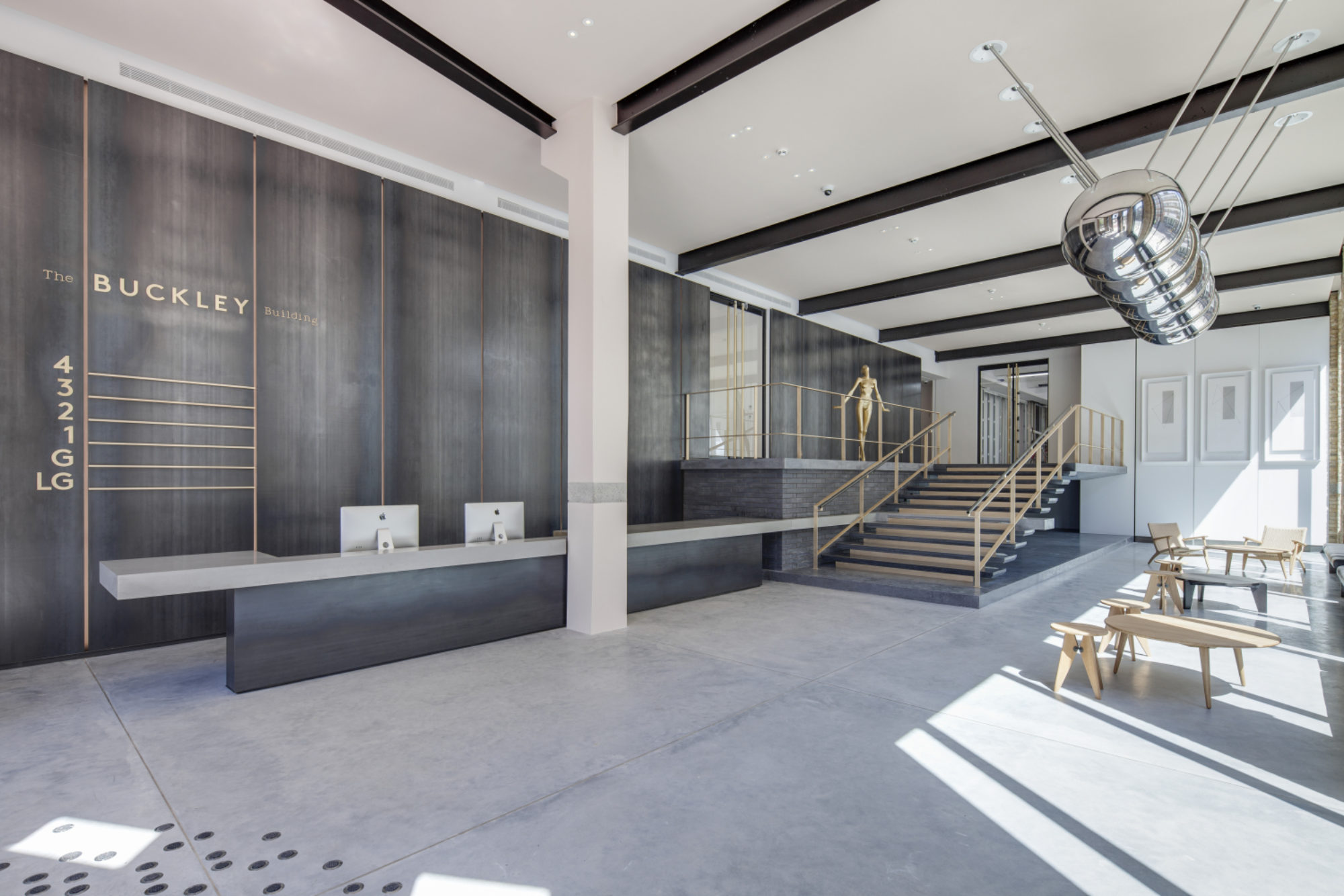 Buckley Building wins the Commercial Interior Award at the 2015 Surface Design Show