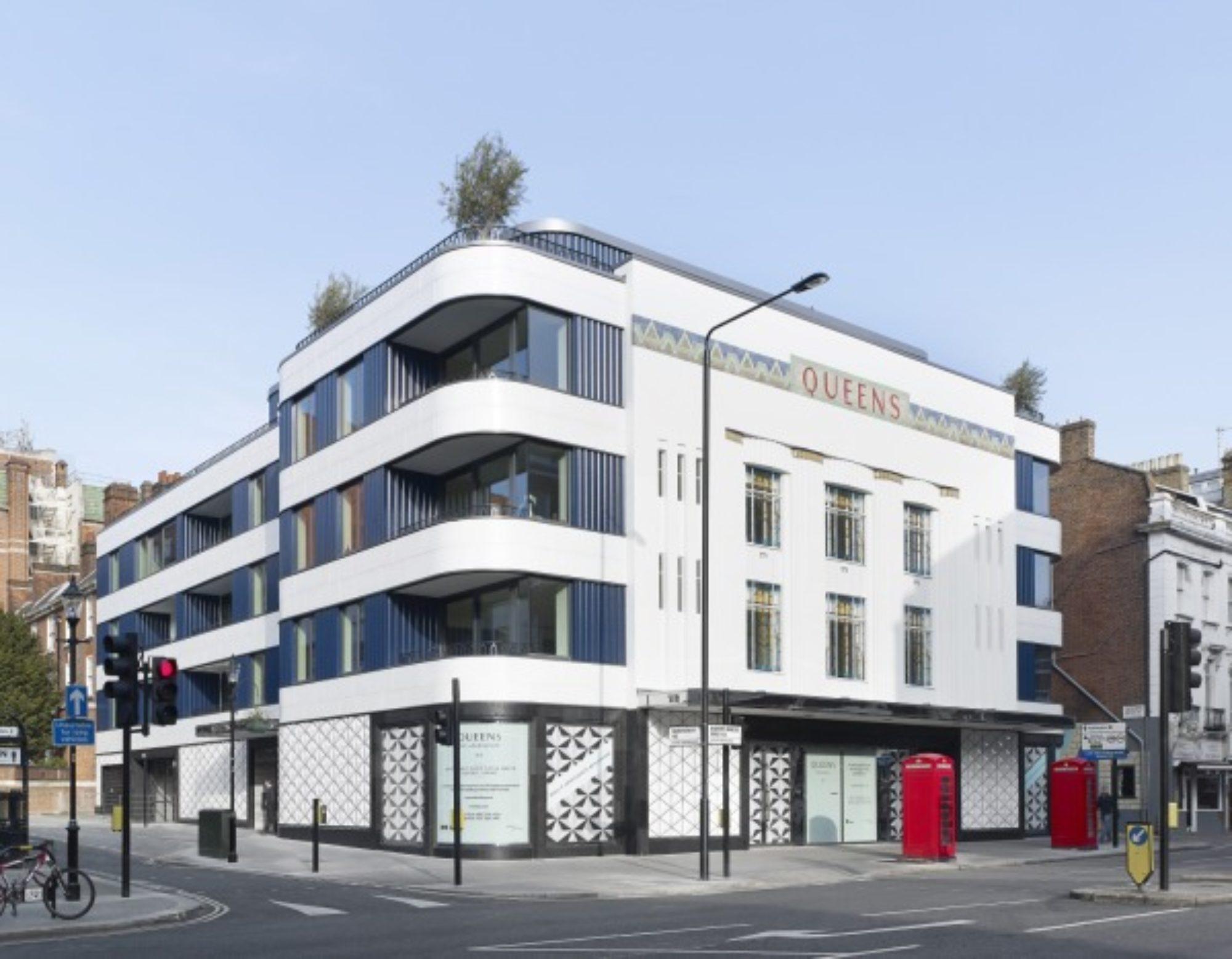 Queens Building wins RIBA London award 2015
