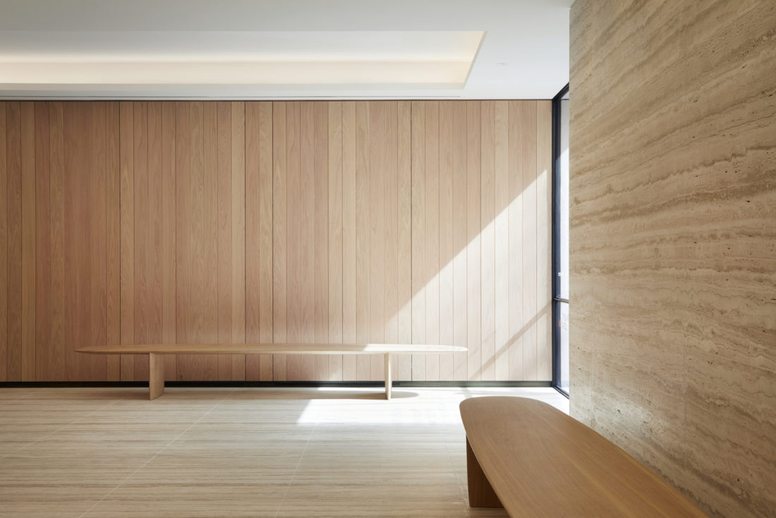 Ian McChesney bench at Savile Row wins Production category in Wood Awards 2019 image