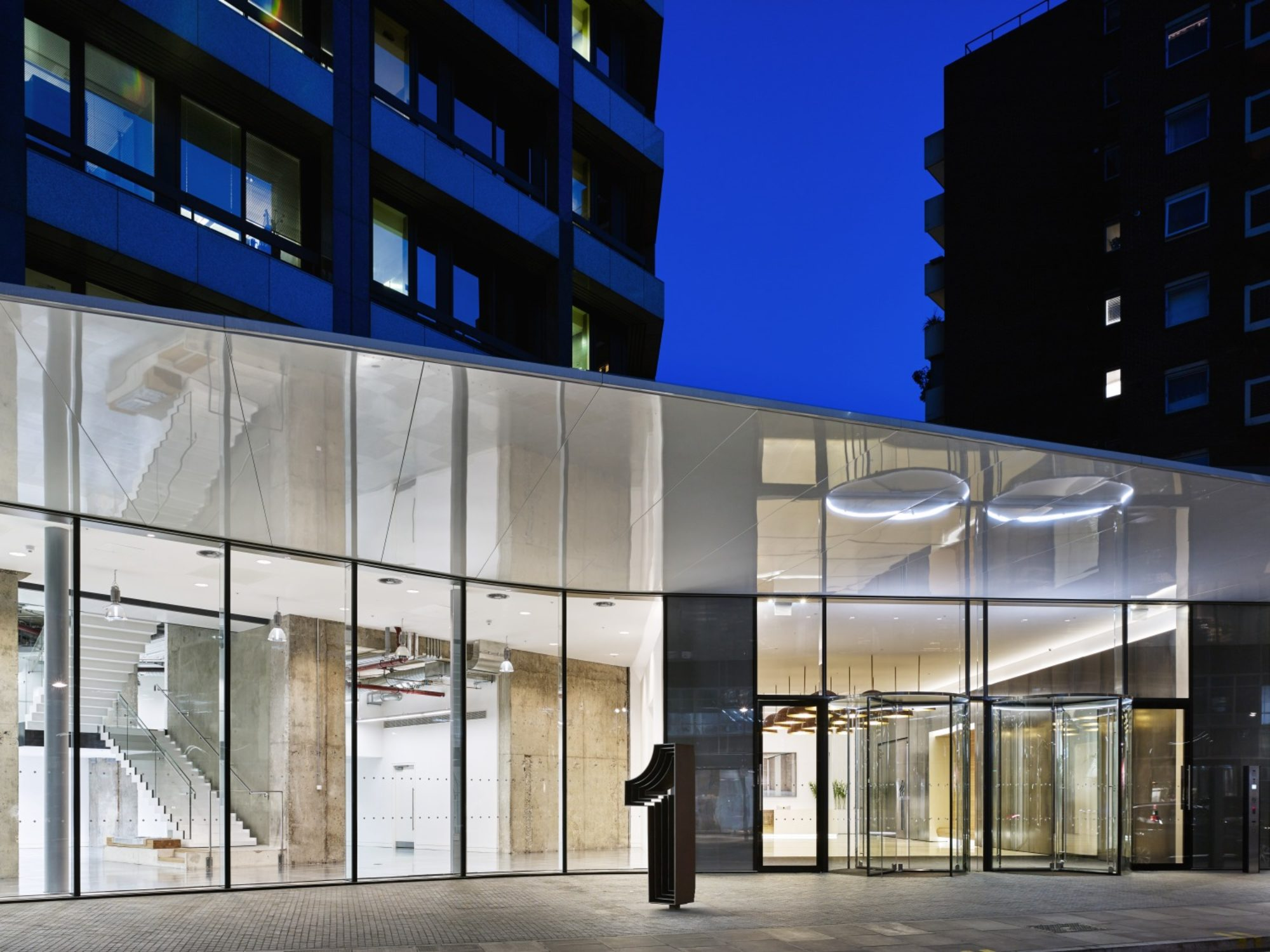1-2 Stephen Street received the BCO National Refurbished / Recycled Workplace Award