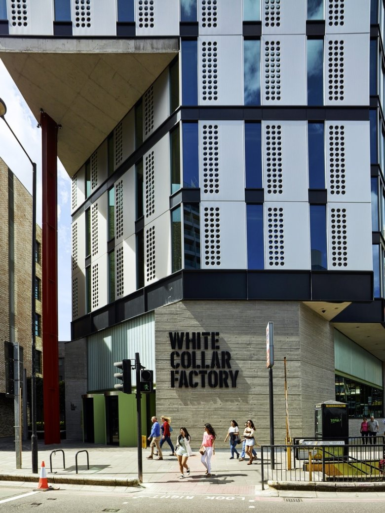 White Collar Factory opens