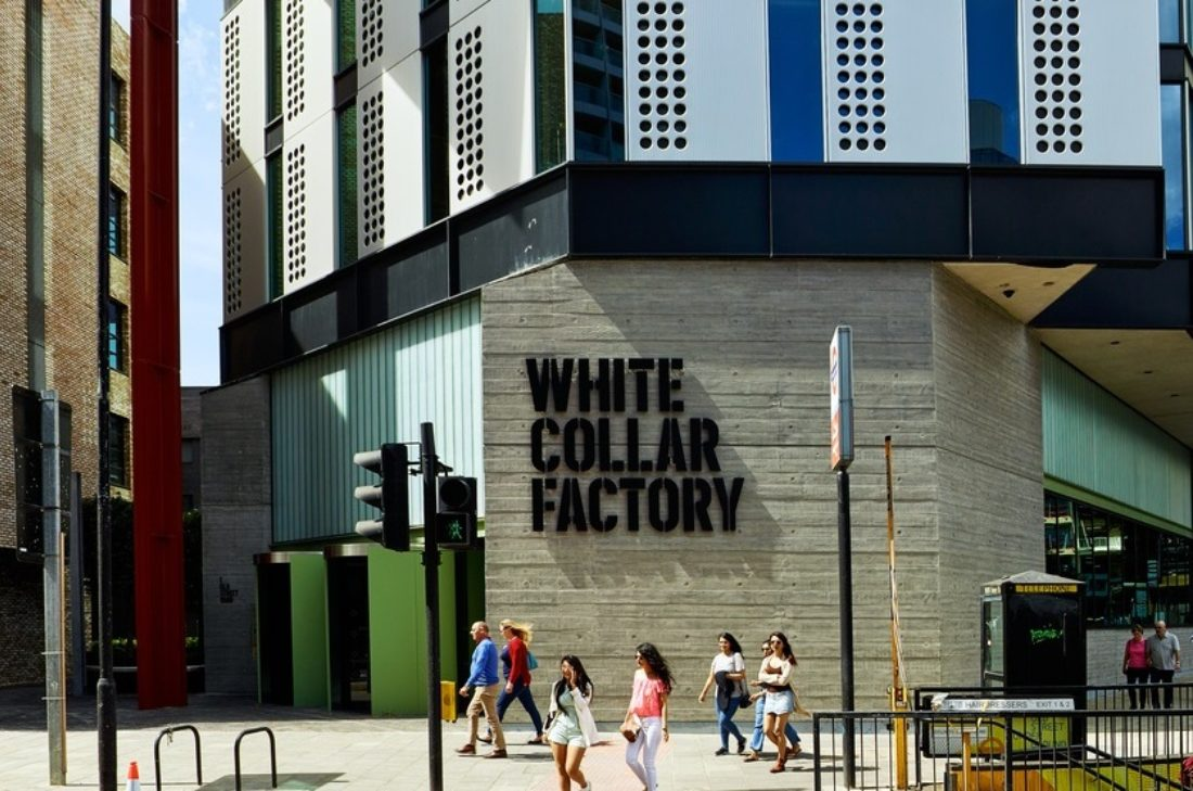 White Collar Factory open for London Open House image