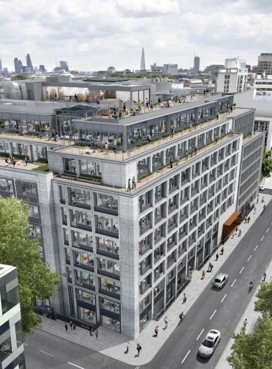 Derwent London secures further major pre-lets at 80 Charlotte Street