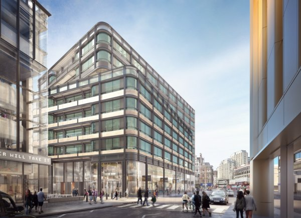 Crossrail hands over major West End site to Derwent London
