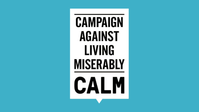 Logo for the Campaign Against Living Miserably