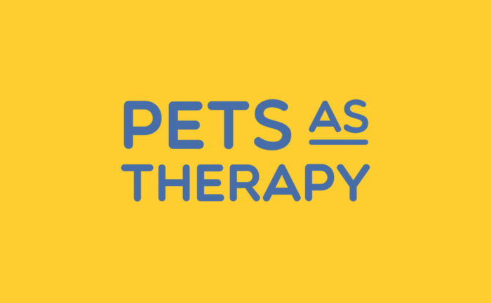 Logo for Pets As Therapy