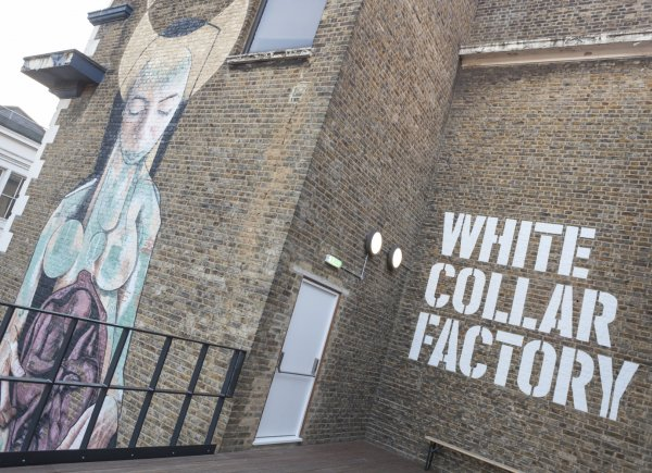 White Collar Factory - Street Art