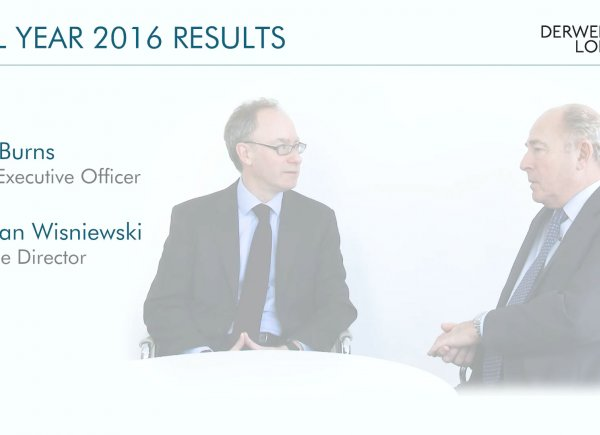 Derwent London Full Year Results 2016 Video